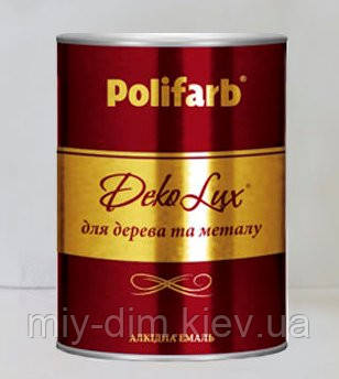 Емаль DekoLux 0,9кг кор.шокол