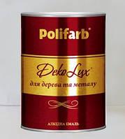 Емаль DekoLux 2,7кг т.коричн., фото 1