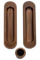 Ручки для раздвижных дверей AGB B01927.00.02 Scivola, бронза