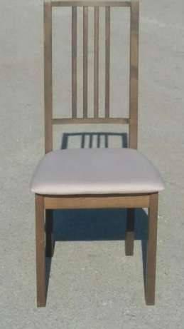 Стул кухонный  Бук с мягким сиденьем Fn, коричневый, фото 2