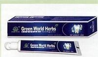 Зубная паста +зубная щетка «Green World»
