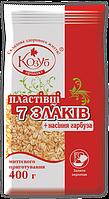 Хлопья овсяные 7 злаков с семенами тыквы ТМ Козуб Продукт 400г 910351