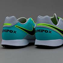 Сороконожки Nike Tiempo Genio Leather II TF 819216-003 Найк Темпо (Оригинал), фото 3