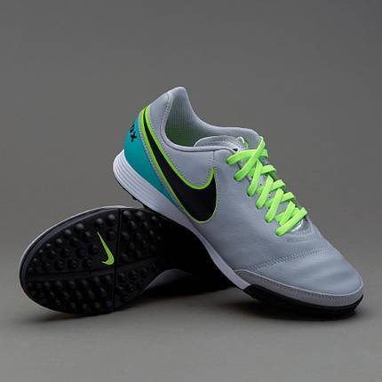 Сороконожки Nike Tiempo Genio Leather II TF 819216-003 Найк Темпо (Оригинал), фото 2
