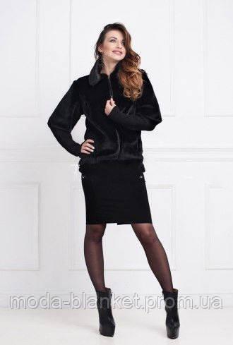 Модный жилет-шубка из искусственного меха - moda-blanket.com.ua в Хмельницком