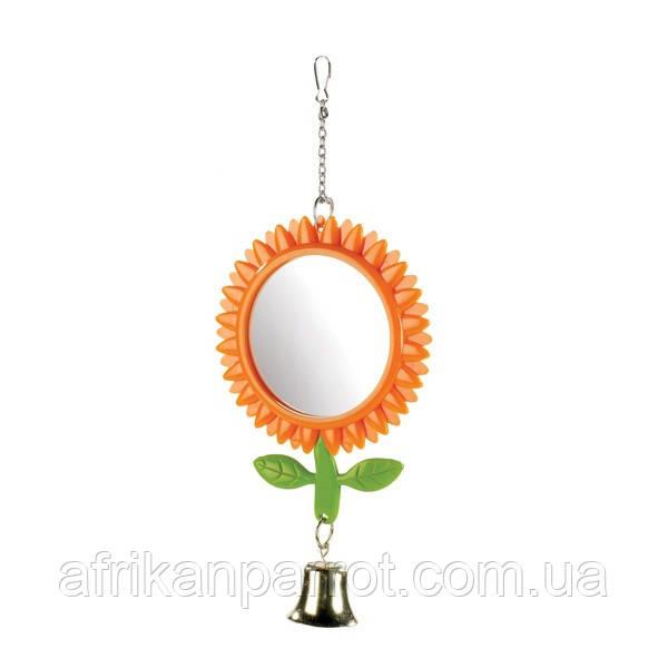 Зеркало для попугая (Подсолнух)