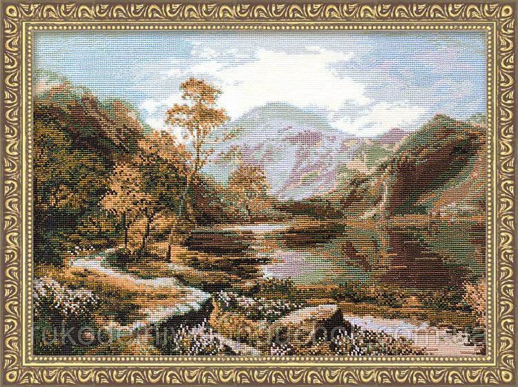 Набір для вишивання хрестом «Озеро Loch Lomond» (800), Риолис
