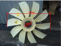 Крыльчатка вентилятора двигателя WD615 | вентилятор WD-615