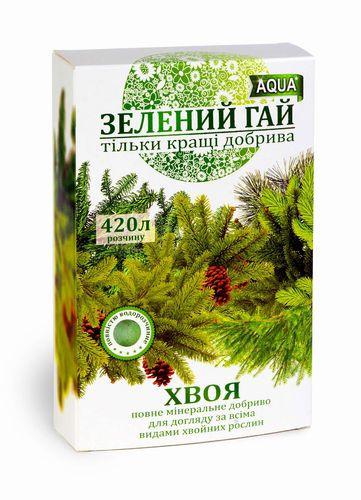 """Удобрение минеральное """"Зелений гай """" хвоя 300 г"""