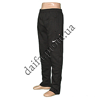 Мужские трикотажные брюки с начесом KZ100 оптом со склада в Одессе