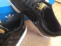 Женские кроссовки Adidas Superstar черные