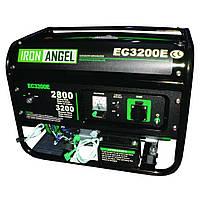 Генератор бензиновый IRON ANGEL EG 3200 М-1 (2.8 кВт)