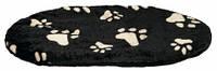 """Лежак - подушка """"Джой"""" для собак,  105х68х4см,  черный в лапах"""