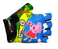 Велоперчатки детские Power Play 5473 Pepa