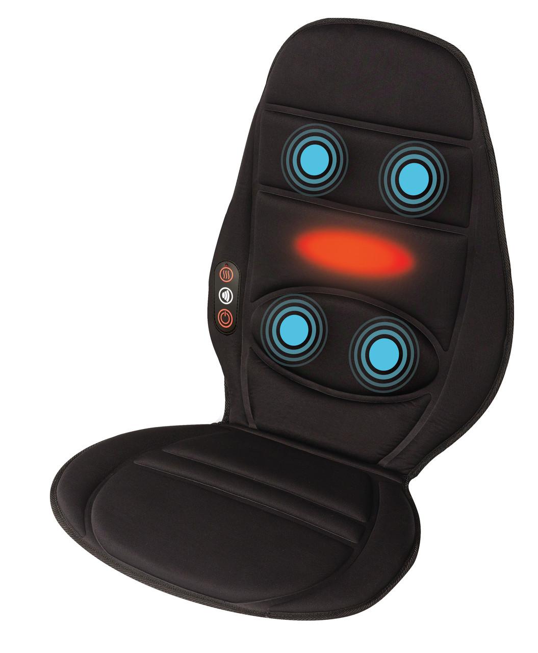 Вибрационная массажная накидка в авто HoMedics