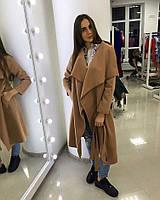 Пальто кашемировое, цвет Коричневый