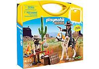 Конструктор Playmobil Возьми с собой: Ковбои 5608