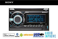 Автомагнитола 2din Sony WX-900BT USB/MP3/CD/iPod/NFC MULTI COLOR