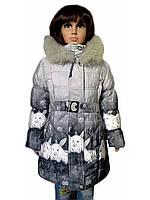 Пальто зимнее кролик, фото 1