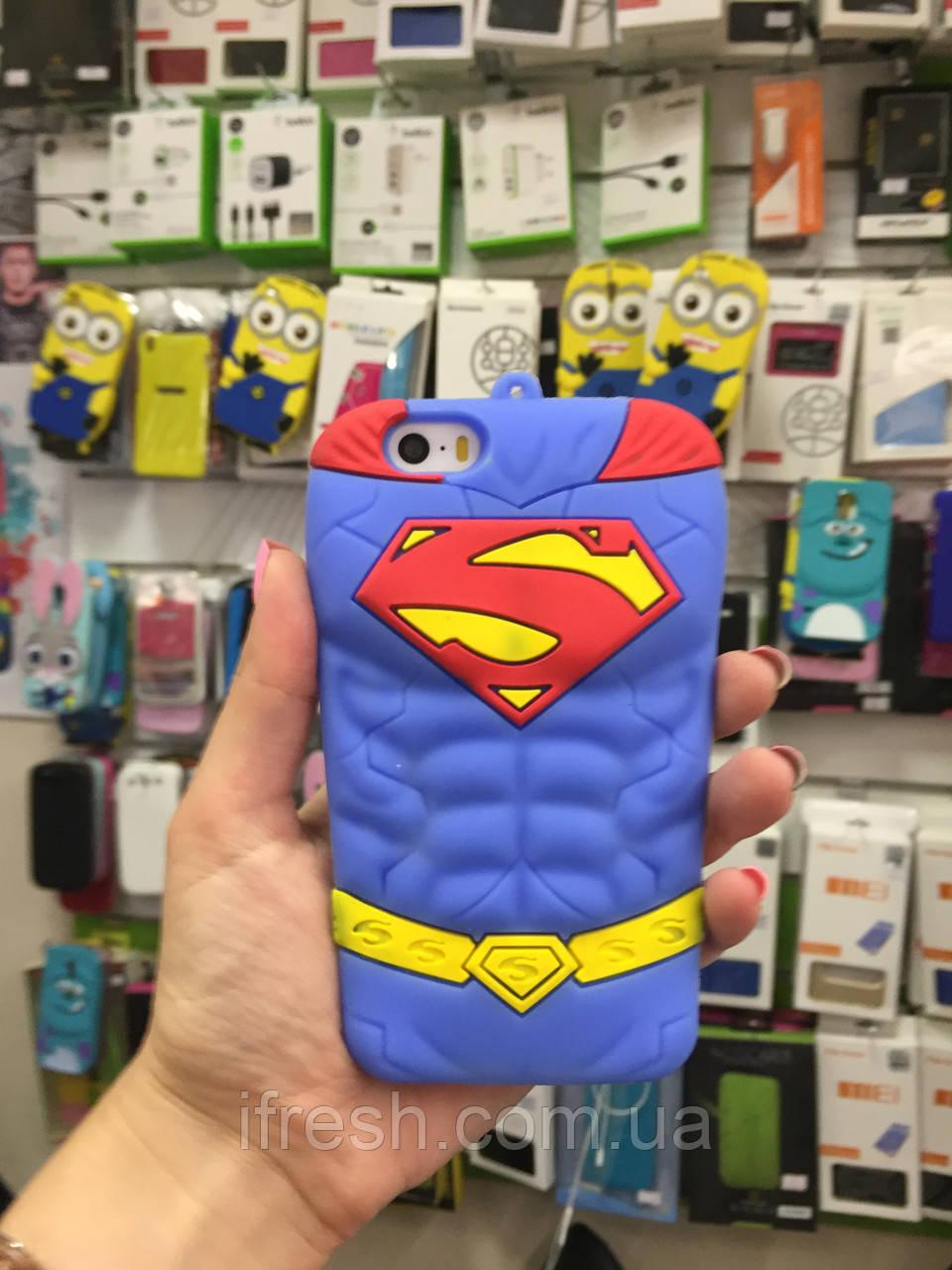 Чехол SUPERMAN для iPhone 5/5C/5S/5SE, Супермэн