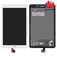 Дисплейный модуль (дисплей + сенсор) для Huawei MediaPad T1 8.0 (S8-701u), белый, оригинал