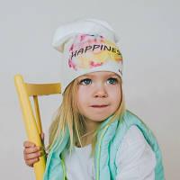 """Весенняя шапочка для девочки """"Мирабелла"""""""