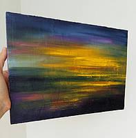 Картина «Яркие краски заката» 2