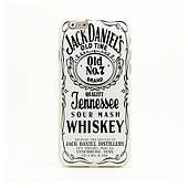 """Тонкий силіконовий чохол для iPhone 6 4.7"""" 0.3 мм Jack Daniels"""