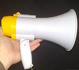 Мегафон ручной HW-8C, усилитель звука, фото 2