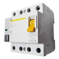 Диференційний вимикач (ПЗВ) ІЕК ВД1-63 4Р 80А 30мА