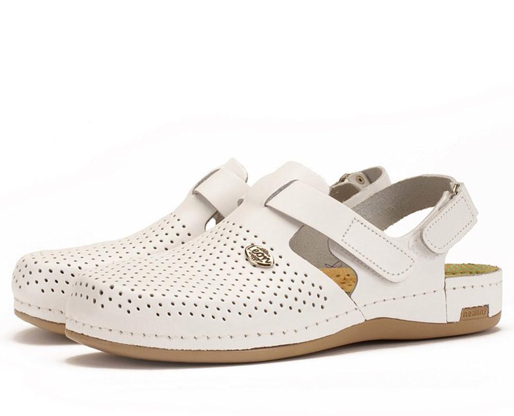 Сабо Leon 951 Белые