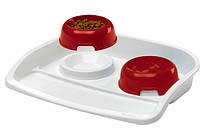 Ferplast (Ферпласт) LINDO - миски на подносе для собак и кошек
