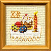 Набор для вышивания крестом «Кулич» (821), Риолис