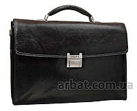 Solenne Портфель V606 black Кожа VERUS