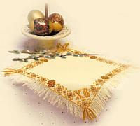 """Набор для вышивания крестом «Салфетка """"Христос Воскресе""""» (823), Риолис"""