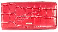 Классический женский кошелек красного цвета под кожу рептилии COSSROLL art.E30-5242-1, фото 1