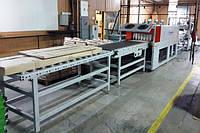 Термоусадочная упаковочная машина б/у УМТ-1000АК для упаковки продукции и деталей мебели, 2013 г., фото 1