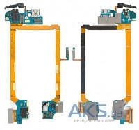 Шлейф для LG D800 Optimus G2/D801/D803 с разъемом зарядки, разъем гарнитуры, микрофон с компонентами