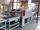 Термоусадочная упаковочная машина б/у УМТ-1000АК для упаковки продукции и деталей мебели, 2013 г., фото 3