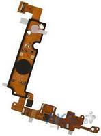 Шлейф для LG E610 / E612 Optimus L5 с разъемом зарядки, кнопкой Home, подсветкой кнопок и микрофоном