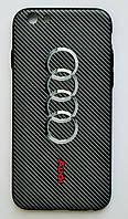 Чехол на Айфон 6/6s White Knights рифленый Пластик Ауди, фото 1