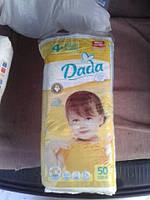 Подгузники Dada 4+ 9-20 кг (50шт)