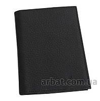 Solenne Портмоне-обложка 19 Кожа для паспорта black