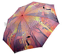 Женский зонт Осень ( полный автомат, 4 сложения ) арт.24756-9