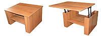 Стол-трансформер для ноутбука Техас орех лесной (цвет на выбор)