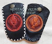 Удмуртские  кожаные сувениры ручной работы.