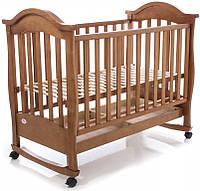 Детская кроватка Baby Care BC-411BC (тик)
