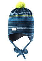 Зимняя шапка для мальчика Lassie by Reima 718692 - 8360. Размер XS и  S.