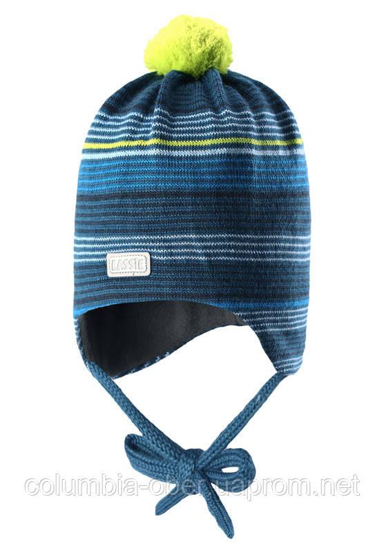 Зимняя шапка для мальчика Lassie by Reima 718692 - 8360. Размер XS.