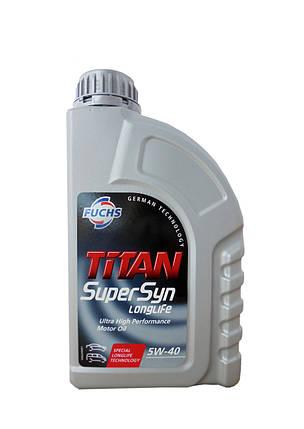 Масло моторное Titan Supersyn 5W-40 1L 600930745 1 л, фото 2